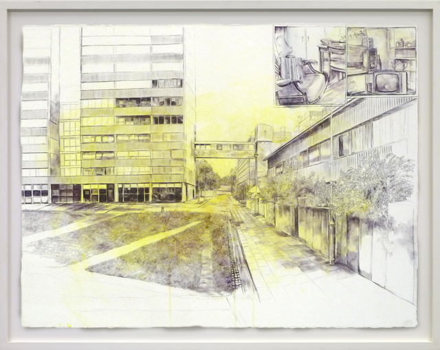 Laura Oldfield Ford, 'Heygate Estate 1974-2013', 2013, The Fine Art Society