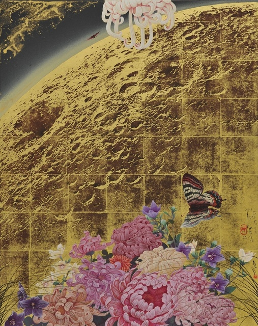 , 'Utopia, Flowers to the Moon,' 2015, Gallery Elena Shchukina