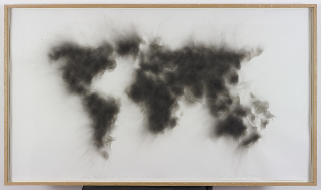 , 'The world belongs to those who set it on fire,' 2015, Dvir Gallery