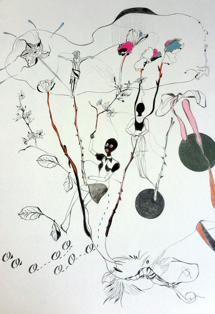 Emily Kocken, 'Opheliad', Books and Portfolios, Pastel and graphite on paper, West Den Haag