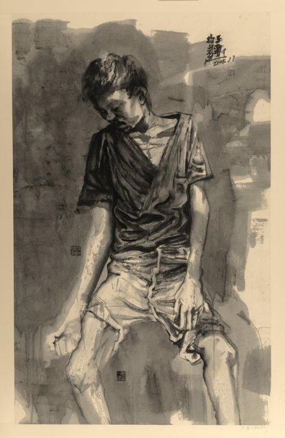 Wang Jinsong, 'Ink Figure No. 60', 2005, Heritage Auctions