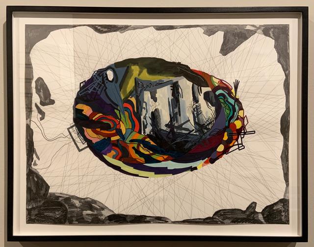, 'Hopeless reparation 2 (leaving),' 2001, David Nolan Gallery