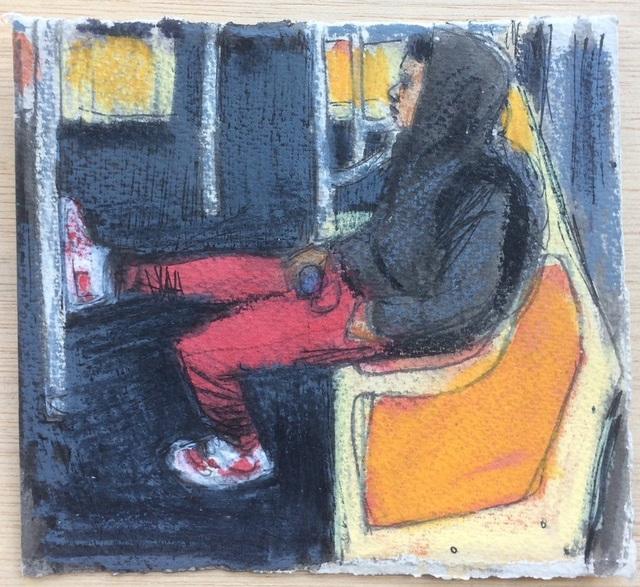 , 'Red Pants,' 2017, Ground Floor Gallery