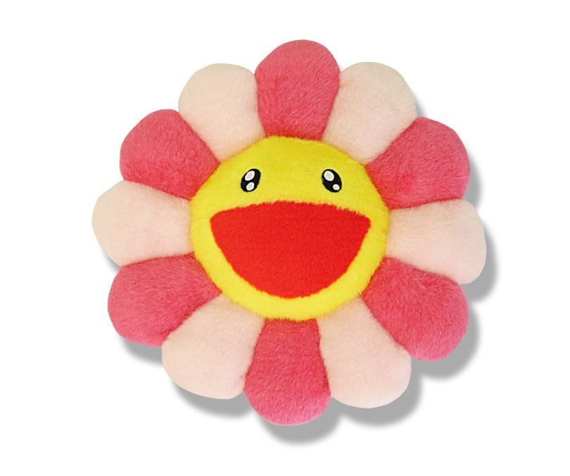FLOWER CUSHION PINK & YELLOW