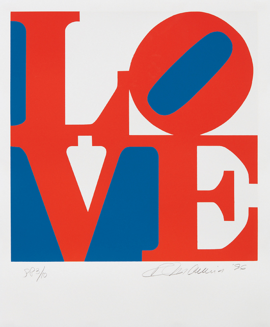 Robert Indiana, 'Love, from Book of Love', 1996, Phillips