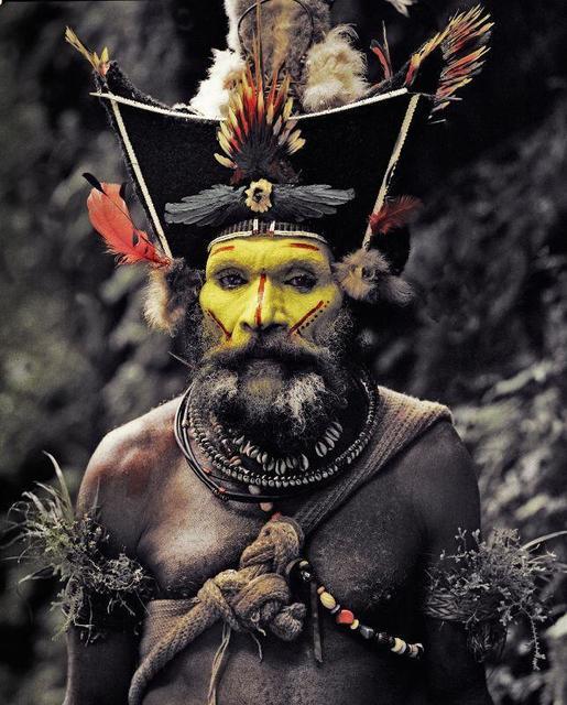 , 'XV 65 - Kati Hirawako - Huli Wig men - Ambua Falls, Tari Valley - Papua New Guinea,' 2010, Kate Vass Galerie