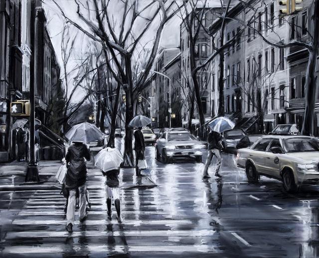 , 'City Crossings,' 2018, Elins Eagles-Smith Gallery