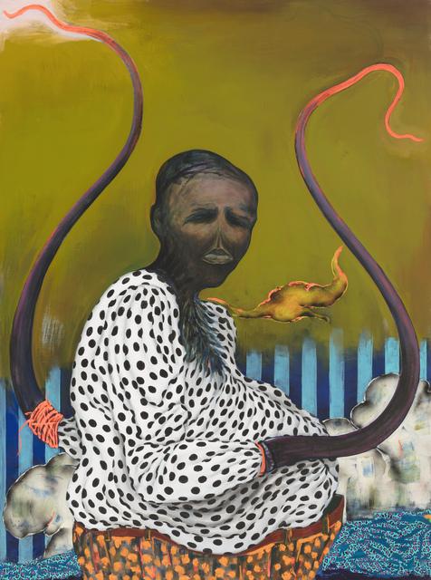 , 'Untitled Gravedigger,' 2018, Stevenson