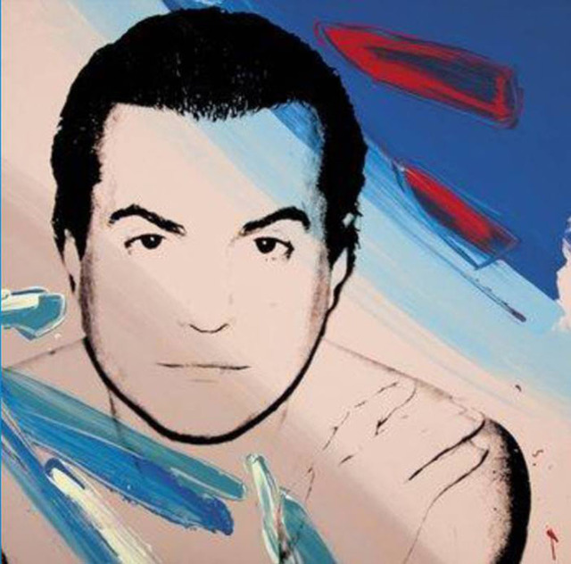 Andy Warhol, 'Mario Borsato', 1981, Painting, Synthetic Polymer paint and Silkscreen ink on Canvas, Taglialatella Galleries