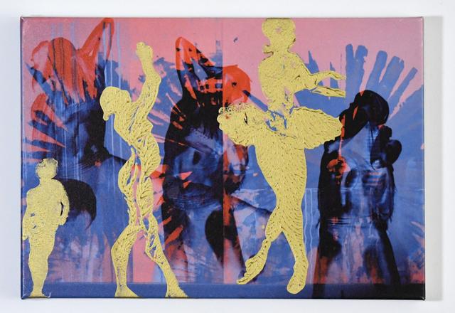 , 'Gold Dancers,' 2015, InLiquid