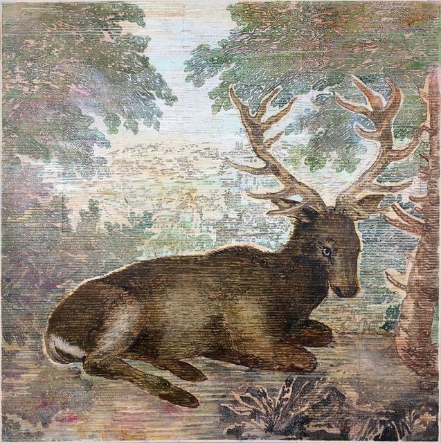, 'Durer's Deer,' 2018, Seager Gray Gallery