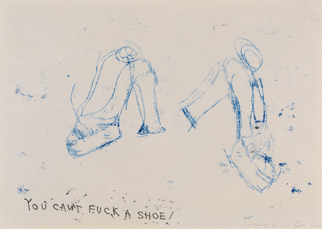 Tracey Emin, 'You Can't Fuck a Shoe', 2010, Lougher Contemporary