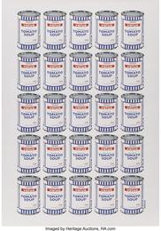 Tesco Value Cream of Tomato Soup, poster