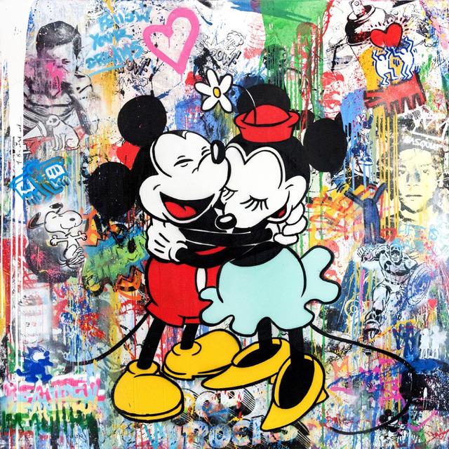 Mr. Brainwash, 'Mickey & Minnie', 2015, Taglialatella Galleries