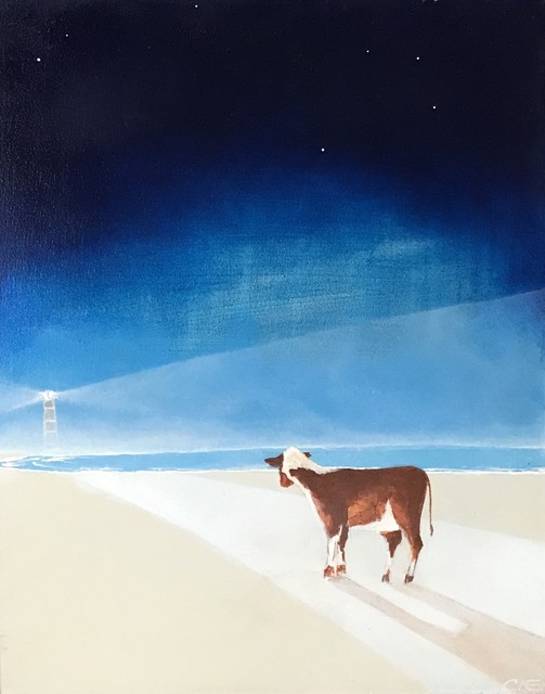 Carlos Alberto Scaramella, 'The Lighthouse Cow', 2014, Pigalle Gallery