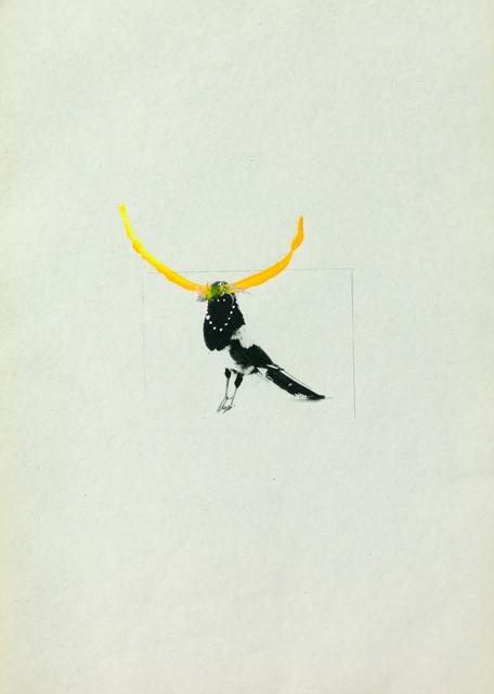 , 'Several birds fly away when they understand it (5),' 2013, ChertLüdde