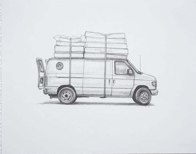, 'Vandervoort,' 2017, Jonathan LeVine Projects