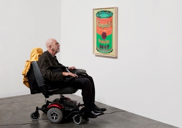 , 'Gagosian, Chuck Close and Andy Warhol, Art Basel,' 2010, Clark Gallery