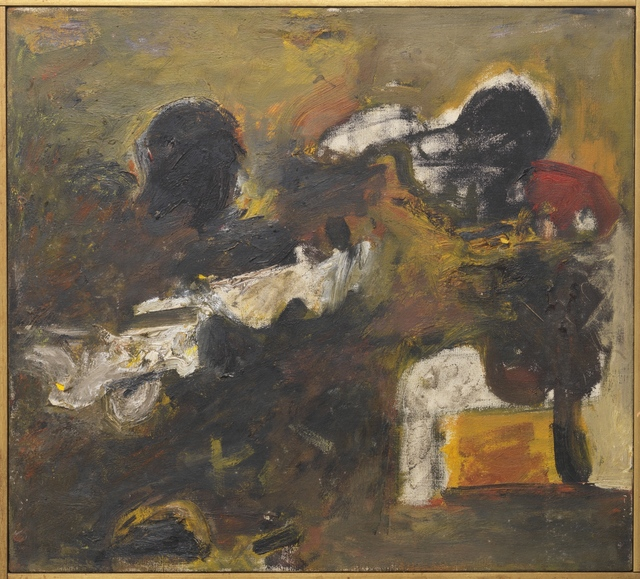 Milton Resnick, 'Untitled', 1957, Painting, Oil on canvas, The Milton Resnick and Pat Passlof Foundation