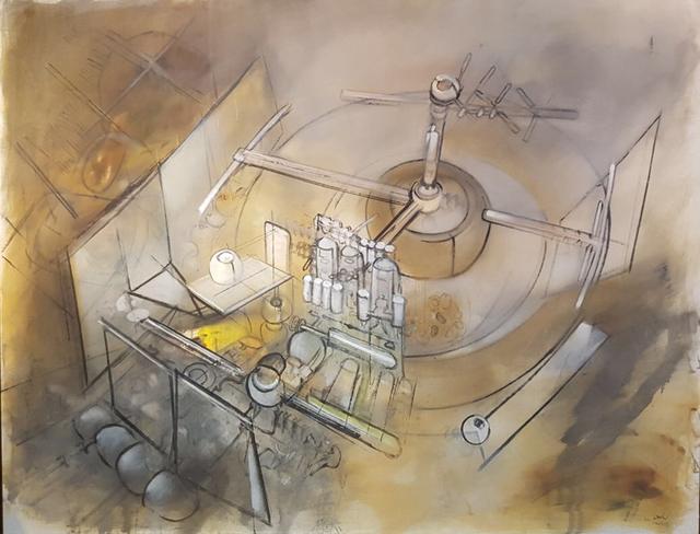 , 'Les Champs de Memoire,' 1957, New River Fine Art