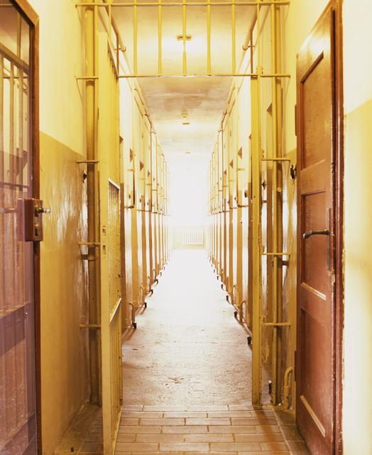 Andres Serrano, 'Bunker Corridor, Buchenwald (Torture)', 2015, Alfonso Artiaco