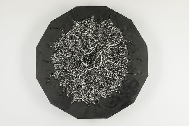 Don Joint, 'Under The Fig Leaf', ca. 2019, Other, Mosaic on wood panel, Childs Gallery
