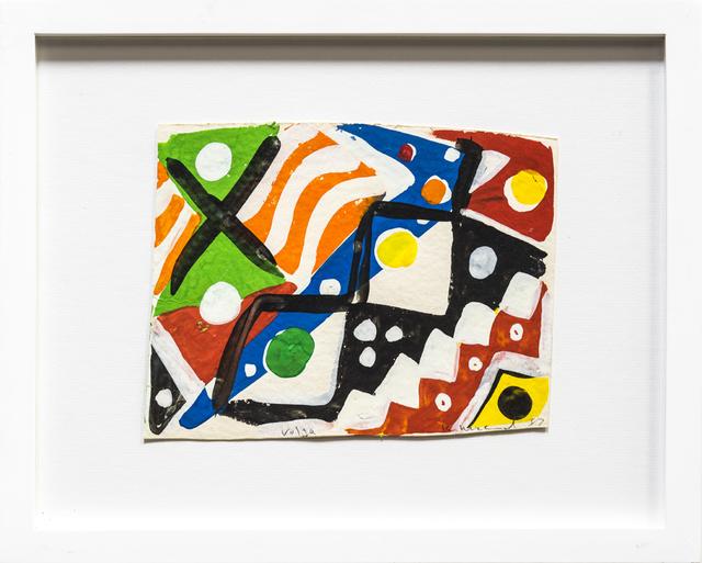 , 'Sketch for Volta,' 1987, Rosamund Felsen Gallery