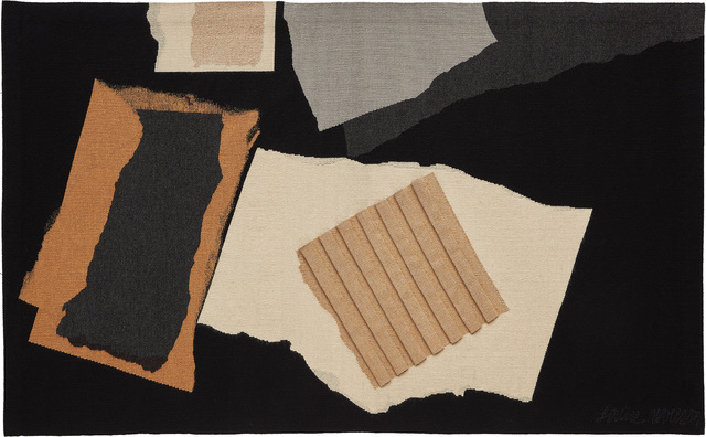 """Louise Nevelson, 'Unique """"Night Mountain"""" tapestry', 1977, Phillips"""