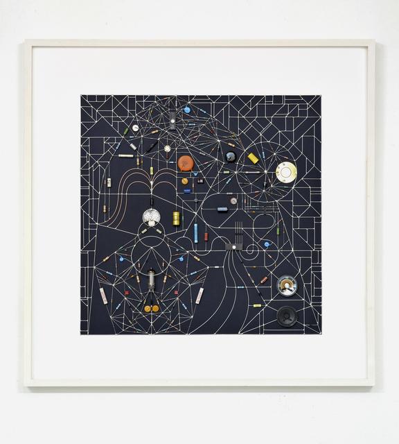 , 'Technological Mandala 116 - transit within the black square,' 2017, The Flat - Massimo Carasi