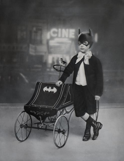 Zoé Byland, 'Boy and Batmobile', 2019, Corey Helford Gallery