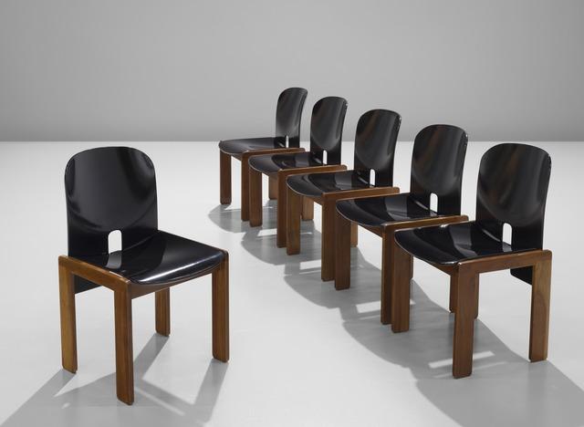Tobia Scarpa, 'Set of Six Chairs Model 121', ca. 1965, MORENTZ