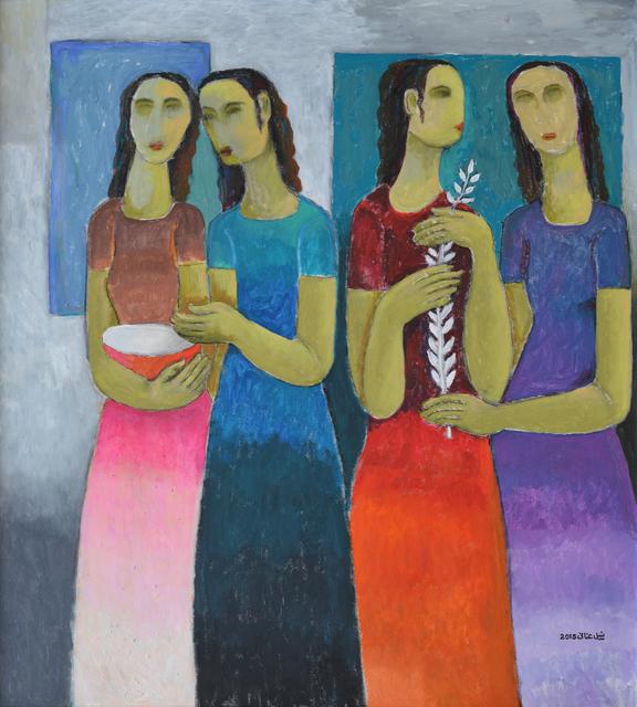 Nabil Anani, 'A Dream in a Rainy Night', 2015, Zawyeh Gallery