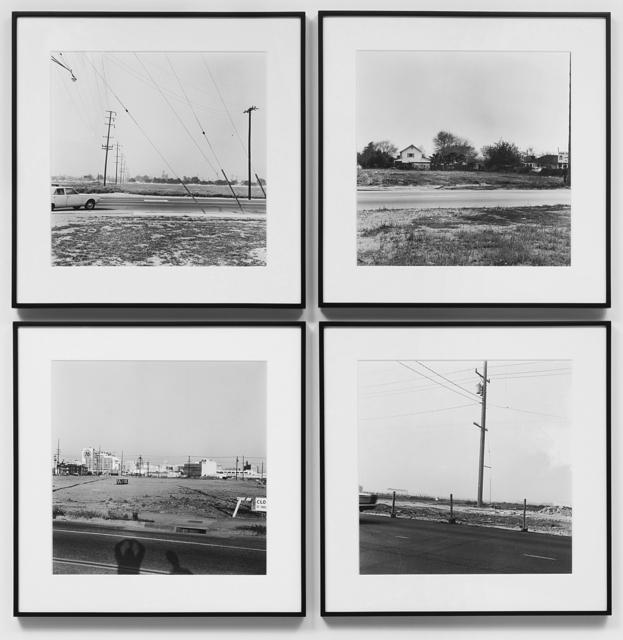, 'Vacant Lots Portfolio,' 1970, Yancey Richardson Gallery