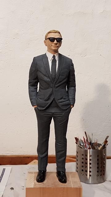, 'Man with gray  suit,' 2019, Galerie Barbara von Stechow
