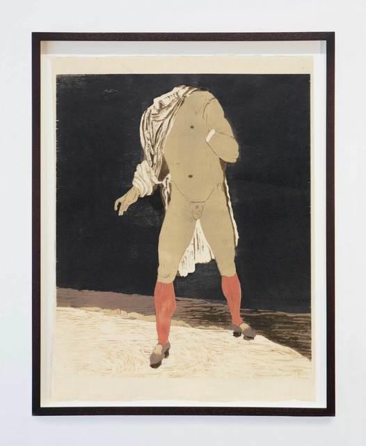 , 'Headless Man in Stockings,' 2015, Stephen Friedman Gallery