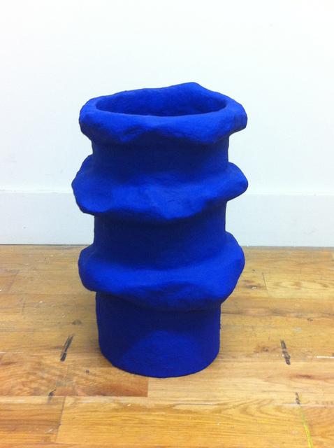 , 'Cobalt Vessel,' 2015, Johannes Vogt Gallery