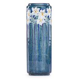 Fine early vase with daffodils, New Orleans, LA