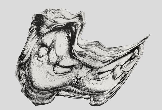 , 'Trump Smear #1,' 2018, Simon Lee Gallery