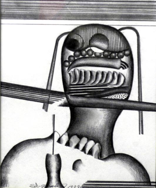 Eugene James Martin, 'A Loaded Mind', 1977, Eugene Martin Estate