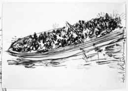 , 'Lampedusa,' 2014, Dvir Gallery