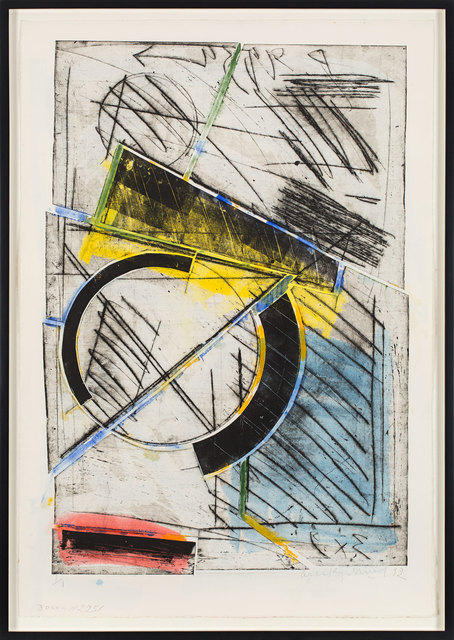 , 'Composition (Plate 2251),' 1992, Rosenberg & Co.