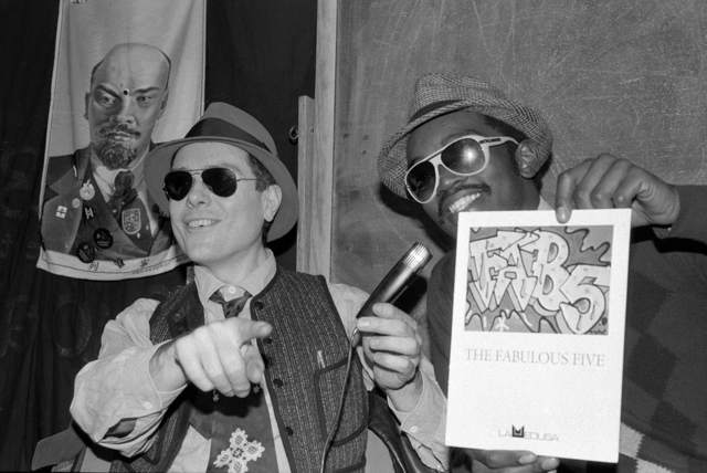 , 'Glenn O'Brien and Fab 5 Freddy, TV Party ,' 1980, Wallplay