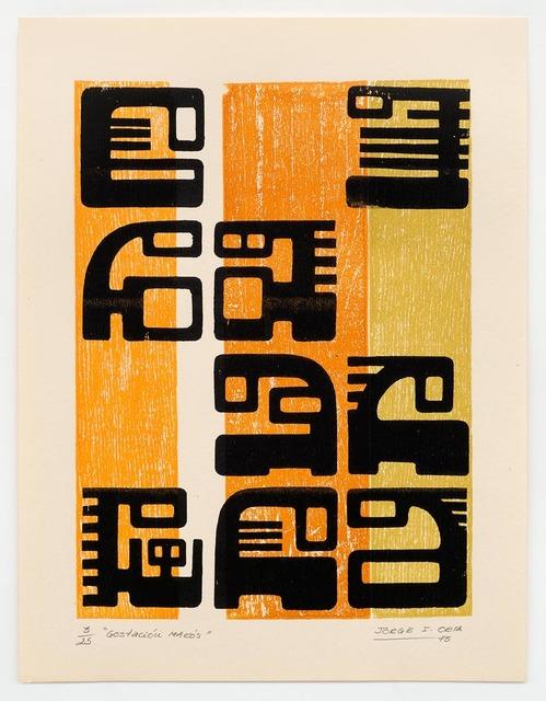 , 'Gestación Makós,' 1970-1979, Richard Saltoun