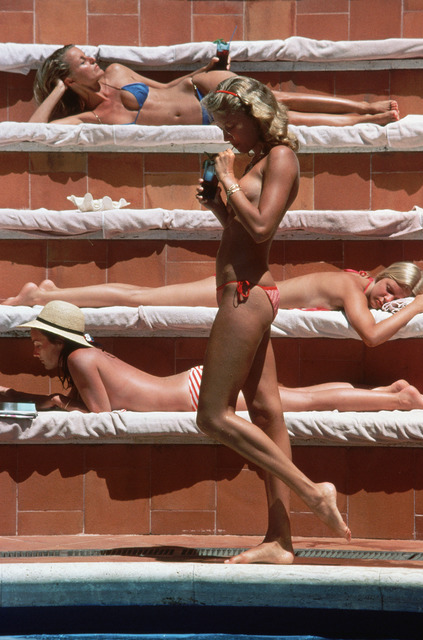 , 'Catherine Wilke, Capri, Italy,' 1980, Staley-Wise Gallery