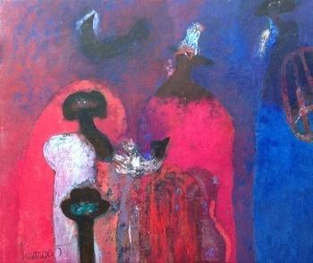, 'De los Cazadores Misticos,' 2011, Ford Fine Art
