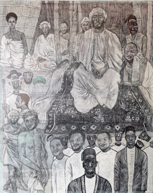 , 'Passion of christ in Mwanga's court 2,' 2016, Afriart Gallery
