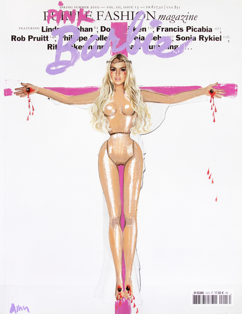 , 'The Crucified Barbie Issue (Purple Magazine - Lindsay Lohan),' 2016, Garis & Hahn