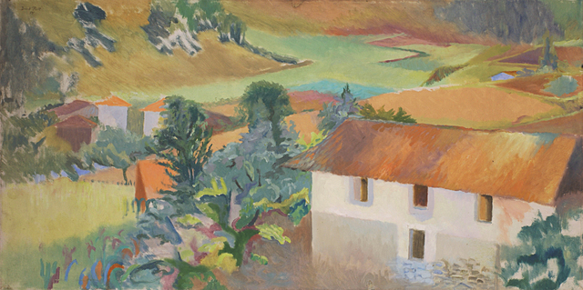 , 'Valley framhouse, south of france,' ca. 1968, Robert Eagle Fine Art