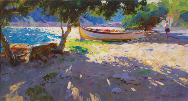 , 'Noon on the Coast,' 2017, Paul Scott Gallery & galleryrussia.com