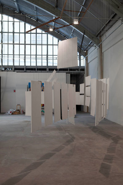 , 'The Great White Way (Cardiographic score Homage Mondrian / Oiticica / Clark / Pape),' 2010, Baró Galeria